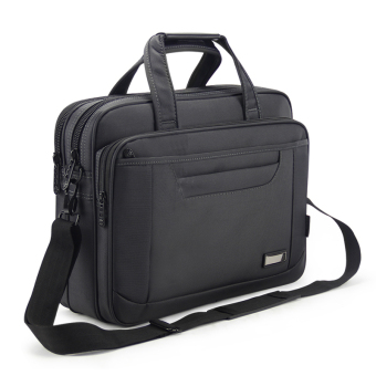 Harga Men's business oxford business briefcase 15.6 inch large capacity shoulder waterproof laptop computer bag