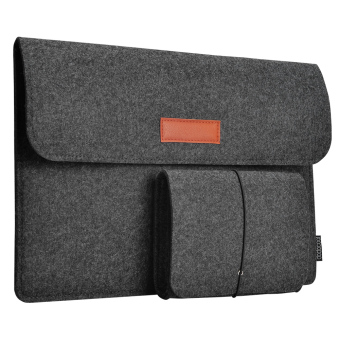"Harga dodocool 13.3-Inch Felt Sleeve Cover Carrying Case Protective Bag 4 Compartments with Mouse Pouch for Apple 13"" MacBook Air / 13"" MacBook Pro / 13"" MacBook Pro with Retina display and Most Popular 13-13.3 Inch Laptop and More Dark Gray - intl"