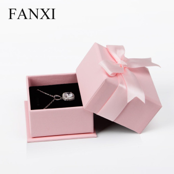 Harga Where the west creative bow jewelry box jewelry packaging box ring box pendant box H025