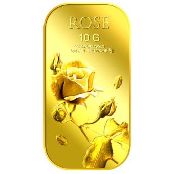 Harga Puregold 10g Small Rose Gold Bar