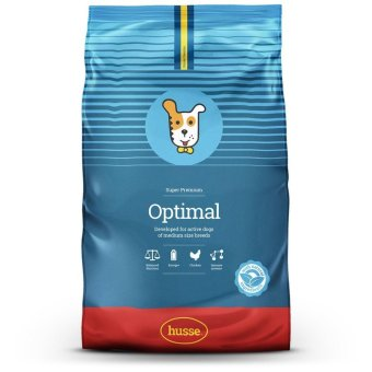 Harga Husse Optimal Dry Food For Dogs 15kg