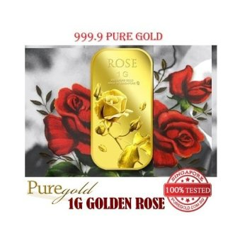 Harga Puregold Small Rose Gold Bar 1g.
