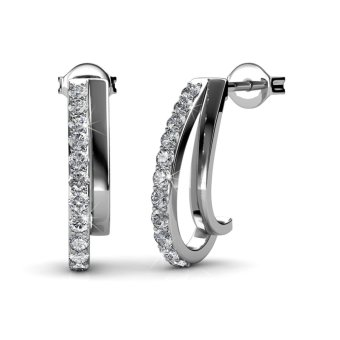 Joyce Earrings - Crystals from Swarovski®
