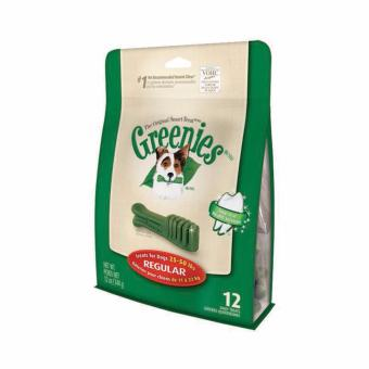 Harga Greenies Original Dental Chews For Dogs 11-22 kg - Regular