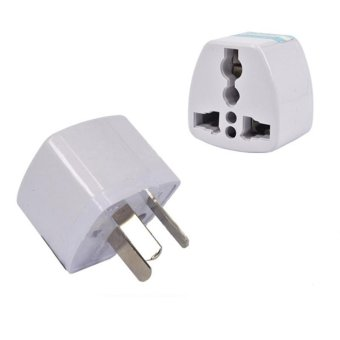 Harga Universal Power Adapter Travel Adaptor 3 Pin AU Converter US/UK/EU To AU Plug Charger for Australia New Zealand - intl