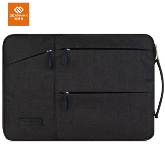 Harga GEARMAX Laptop Sleeve Bag for Macbook pro retina 15.4 inch Protective Case Handbag Briefcase(Black) - intl