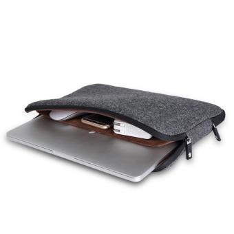 Harga GEARMAX Felt Laptop Sleeve for Macbook 12 Black