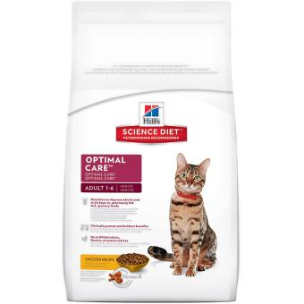 Harga Science Diet Feline Adult Optimal Care 4kg