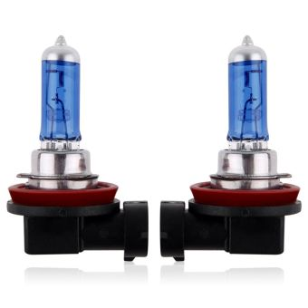 Harga 2pcs H11 White Fog Halogen Xenon Bulb 12V 55W/100W Auto Car Headlight Lamp12V/55W