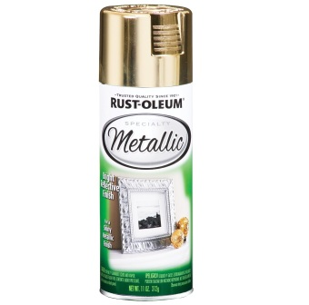 Harga Rust-Oleum Specialty Metallic Spray 11oz (Gold)