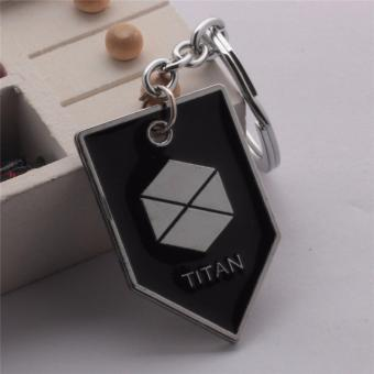 Harga Fancyqube Hot Selling MARKER HUNTER TITAN WARLOCK Keychain Destiny PS4 Game Key Chain Jewelry Pendants Occupational For Men H02 - intl