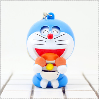 Harga Japan doraemon jingle cat doraemon doll pendant keychain cartoon expression transform toy bag ornaments