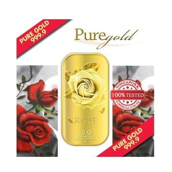 Harga Puregold Big Rose Gold Bar 10g.