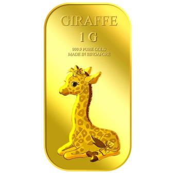 Harga Puregold 1g Female Giraffe Gold Bar