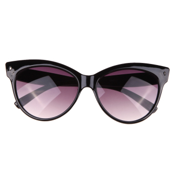 Harga Cat Eye Fashion sunglasses UV400 Bright Black