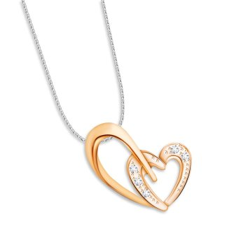 Harga TAKA Jewellery Emotions Diamond Pendant (18K Rose Gold)