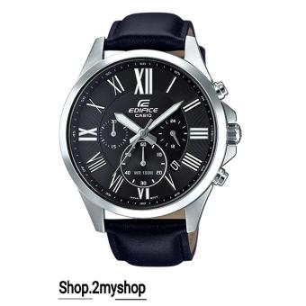 Harga CASIO EDIFICE NEW COLLECTION ELEGANT ROMAN NUMBER EFV-500L-1AVUDF