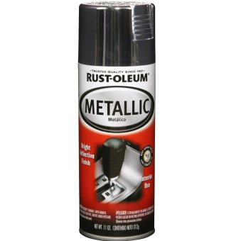 Harga Rust-Oleum Auto Metallic Spray 11oz (Chrome)