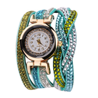 Harga Women Vintage Bracelet Watch (Sky Blue)