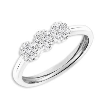 Harga TAKA Jewellery Galaxe Diamond Ring (9K White Gold)