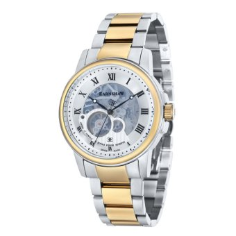 Harga Thomas Earnshaw BEAGLE ES-0029-22 Men's Two Tones Ionic Plating Solid Bracelet Watch