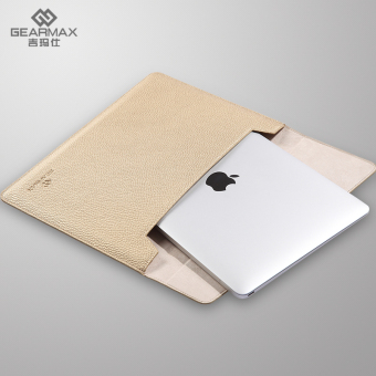 Harga GEARMAX Sleeve Bag protective case for Macbook Air/Pro 14 inch gold