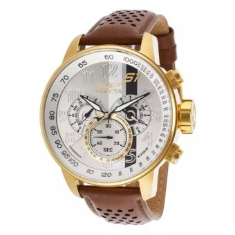 Harga Invicta S1 Rally Men's 19287 Gold Ion-Plated Stainless Steel Case Quartz Watch