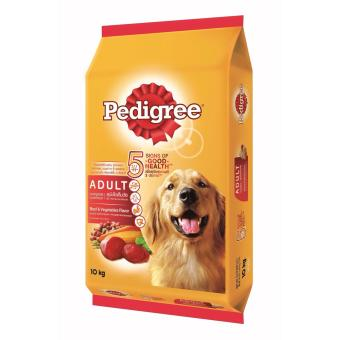 Harga Pedigree Beef & Vegetable 10kg