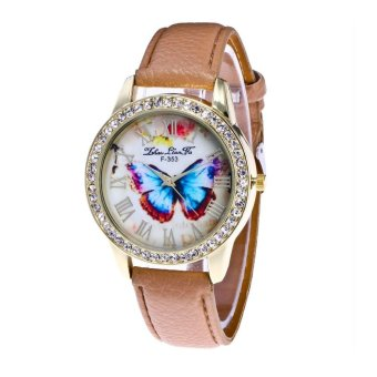 CocolMax Watch Candy Color Male And Female Strap Wrist Watch - intl