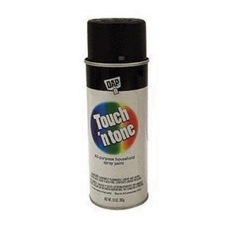 Harga Rust-Oleum Touch n Tone Spray 10oz (Flat Black)