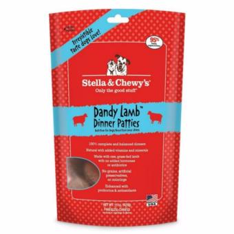 Harga Stella & Chewy's Dandy Lamb Freeze-Dried Dinner Patties For Dogs 15oz (425gms)