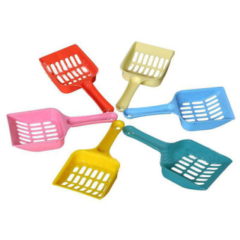 Hot Pet Dog Cat Kitten Litter Scoop Waste Scooper Clean Tool Randomly