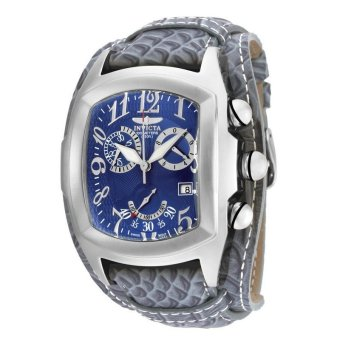 Harga INVICTA Lupah IN-90264 Men's Leather Blue Dial Watch