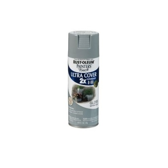 Harga Rust-Oleum Ultra Cover 2X Spray Paint 12oz(Gloss Winter Gray)