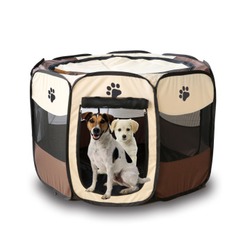 Harga Pet Dog Bed Kennel Play Pen Soft Playpen Cage Folding Crate – L Size