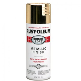 Harga Rust-Oleum Stop Rust Bright Coat Metallic Spray 11oz (Gold)