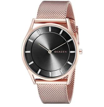 Harga Skagen Women's SKW2378 Holst Rose Gold Mesh Watch - intl