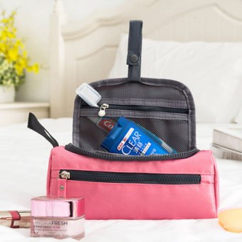 Harga [Clearance] travel kit wash bag female waterproof abroad travel portable supplies outdoor storage bag makeup bag
