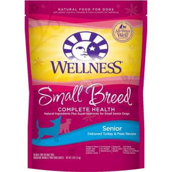 Harga Wellness Complete Health Dry Dog Food (Small Breed Senior Health 4Lb)