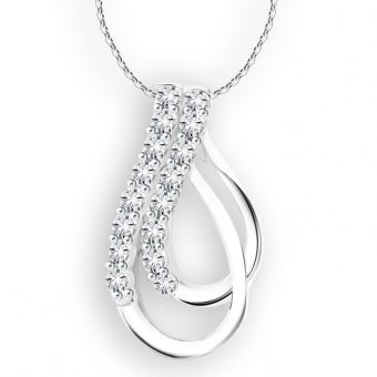 Harga TAKA Jewellery Galaxe Diamond Pendant (18K White Gold)