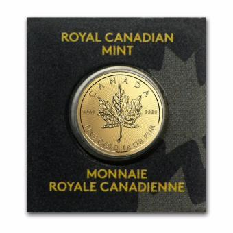 Harga Royal Canadian Mint MapleGram25 1g Gold Coin