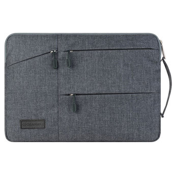 Harga GEARMAX 11.6-Inch Laptop Sleeve (Shockproof,Water-resistant) Gray - Intl