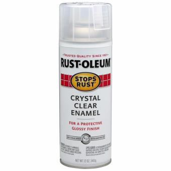 Harga Rust-Oleum Stop Rust Protective Clear Enamel Spray 10.25oz