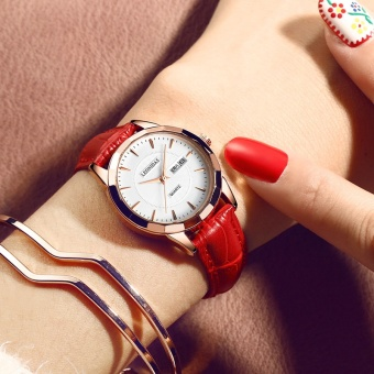 Korean-style leather belt waterproof student watch women's watch