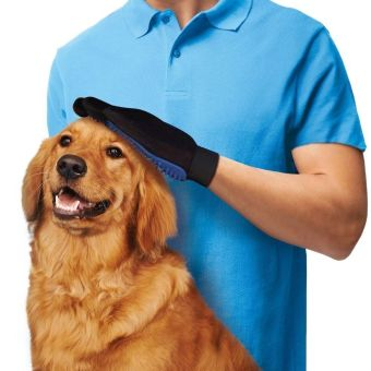 Lifine True Touch Deshedding Glove for Gentle and Efficient PetGrooming
