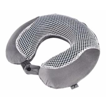 Luxurious Memory Foam Travel Pillow with Cooling Gel