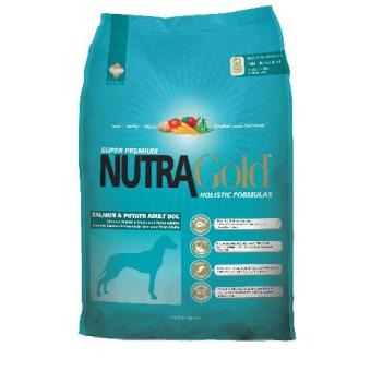 Harga MADE IN USA 2.5kg Nutra Gold Salmon and Potato For Adult Pets Dog