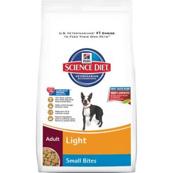 MADE IN USA Hills Science Diet 2kg Canine Adult Light Small Bites For Pets Dog