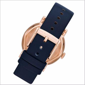 Marc by Marc Jacobs Baker Navy Dial Navy Leather Ladies Watch MBM1329 - 2