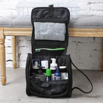 Men Portable Large Capacity Black Storage Bag